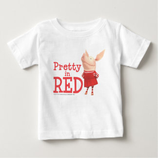 Olivia - Pretty in Red Baby T-Shirt