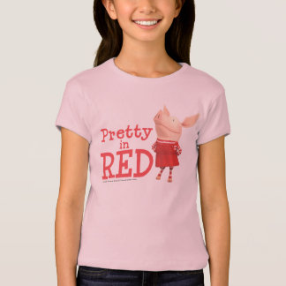 Olivia - Pretty in Red T-Shirt