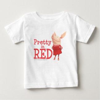 Olivia - Pretty in Red Tshirt