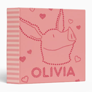 Olivia - Sparkles Binder