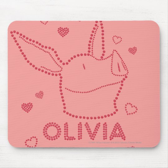 Olivia - Sparkles Mouse Pad