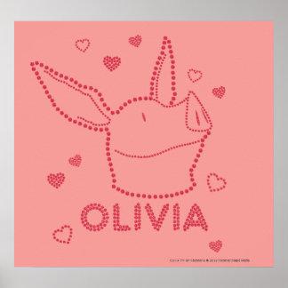 Olivia - Sparkles Posters