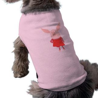Olivia Standing Pet Tshirt