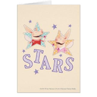 Olivia - Stars Greeting Cards