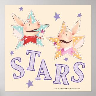 Olivia - Stars Print