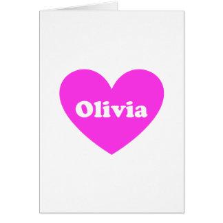 Olivia Felicitación