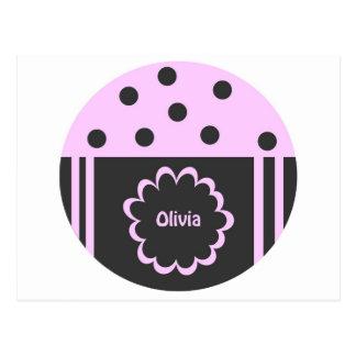 Olivia Tarjeta Postal