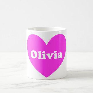 Olivia Taza Básica Blanca