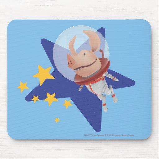 Olivia the Astronaut Mouse Pad