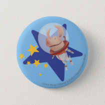 Olivia the Astronaut Pinback Button