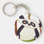 Olivia Van Houten Basic Round Button Keychain
