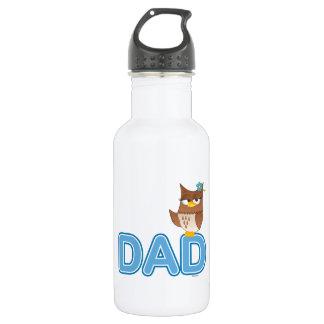 Olivia VonHoot Cartoon Character for Dad - Water Bottle