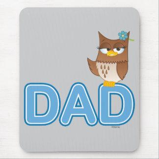 Olivia VonHoot Cartoon for Dad - Mouse Pad