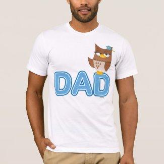 Olivia VonHoot Cartoon for Dad - T-Shirt