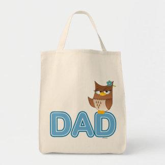 Olivia VonHoot Cartoon for Dad - Tote Bag