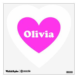 Olivia Wall Sticker