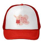 Olivia - When I Grow up Trucker Hat