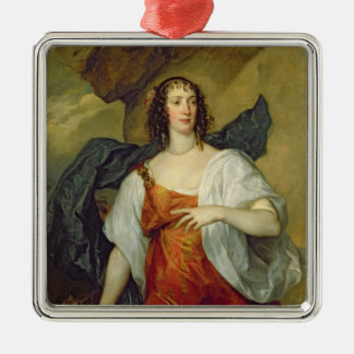 Olivia, Wife of Endymion Porter, c.1637 Metal Ornament