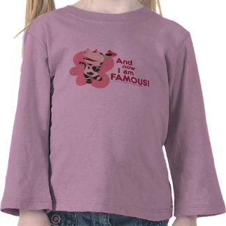 Olivia - y soy famoso ahora camisetas