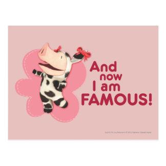 Olivia - y soy famoso ahora postal
