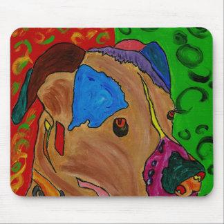 Olivia's Mousepad Dog Art