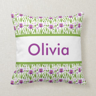 Olivia's Personalized Pillow