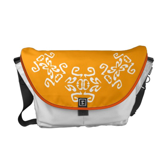 Olivia's Upscale Sunny Yellow Diaper Messenger Bag