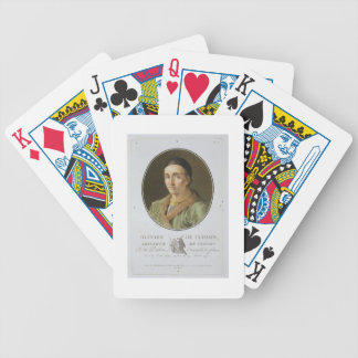 Olivier de Clisson (1336-1407) from 'Portraits des Bicycle Playing Cards