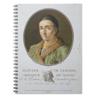 Olivier de Clisson (1336-1407) from 'Portraits des Notebook