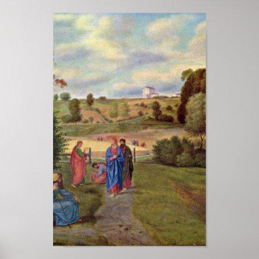 Olivier Fernando - Jesús y sus discípulos Posters