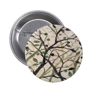 Olivo de Abstracet Pin Redondo De 2 Pulgadas