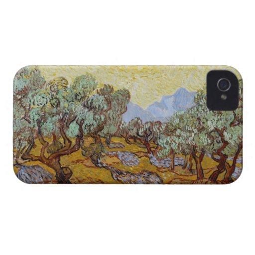 Olivos, 1889 (aceite en lona) iPhone 4 Case-Mate cárcasa