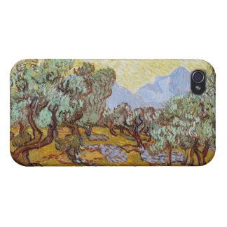 Olivos, 1889 (aceite en lona) iPhone 4/4S carcasa