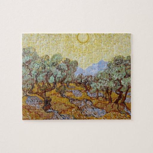 Olivos, 1889 (aceite en lona) puzzle con fotos