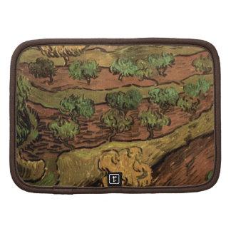 Olivos de Van Gogh contra una cuesta de una colina Planificadores
