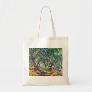 Olivos en Bordighera, Claude Monet 1884 Bolsa Tela Barata