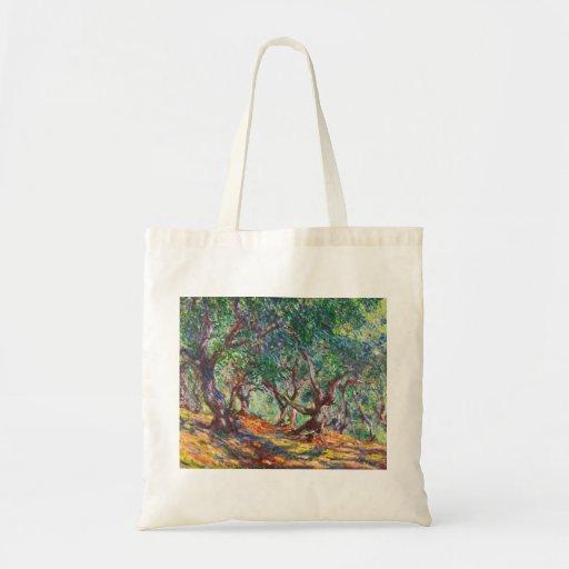 Olivos en Bordighera, Claude Monet 1884 Bolsas