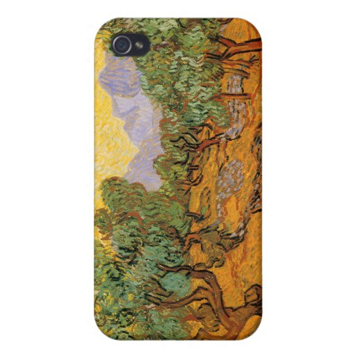 Olivos, Vincent van Gogh iPhone 4 Protectores