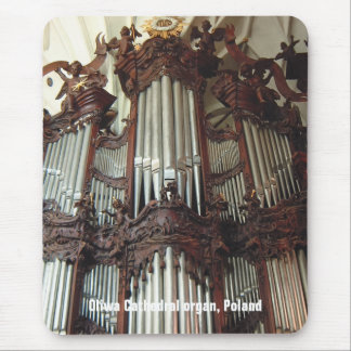 Oliwa Cathedral organ mousepad