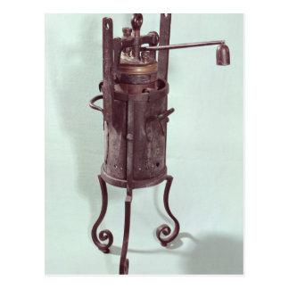 Olla de presión inventada por Denis Papin 1679 Postales