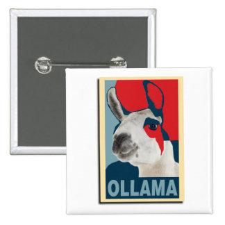 Ollama Obama - Badge Pinback Button