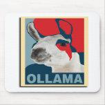 Ollama Obama - Mousepad