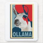 Ollama Obama - Mousepad Alfombrillas De Raton