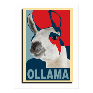 Ollama Obama - postal