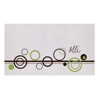 Olli Business Cards
