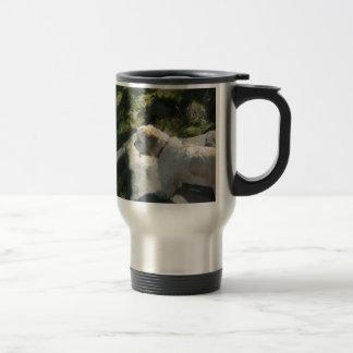 Ollie dog cliff edge mug