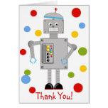 Ollie el robot tarjetas