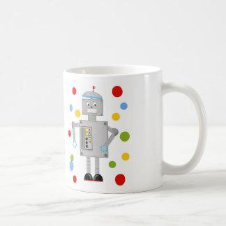 Ollie el robot taza clásica