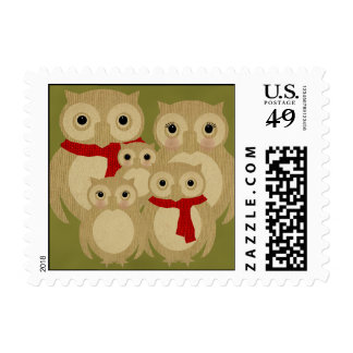 Ollie Family Expanded Postage Stamps