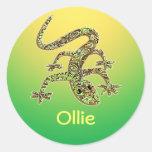 Ollie Gecko / Salamander / Lizard Sticker 1